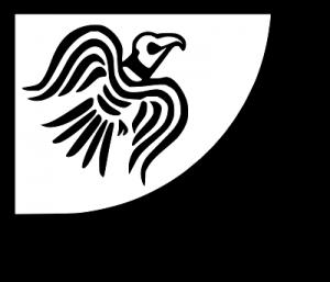 Hrafnsmerki bandera vikinga del cuervo
